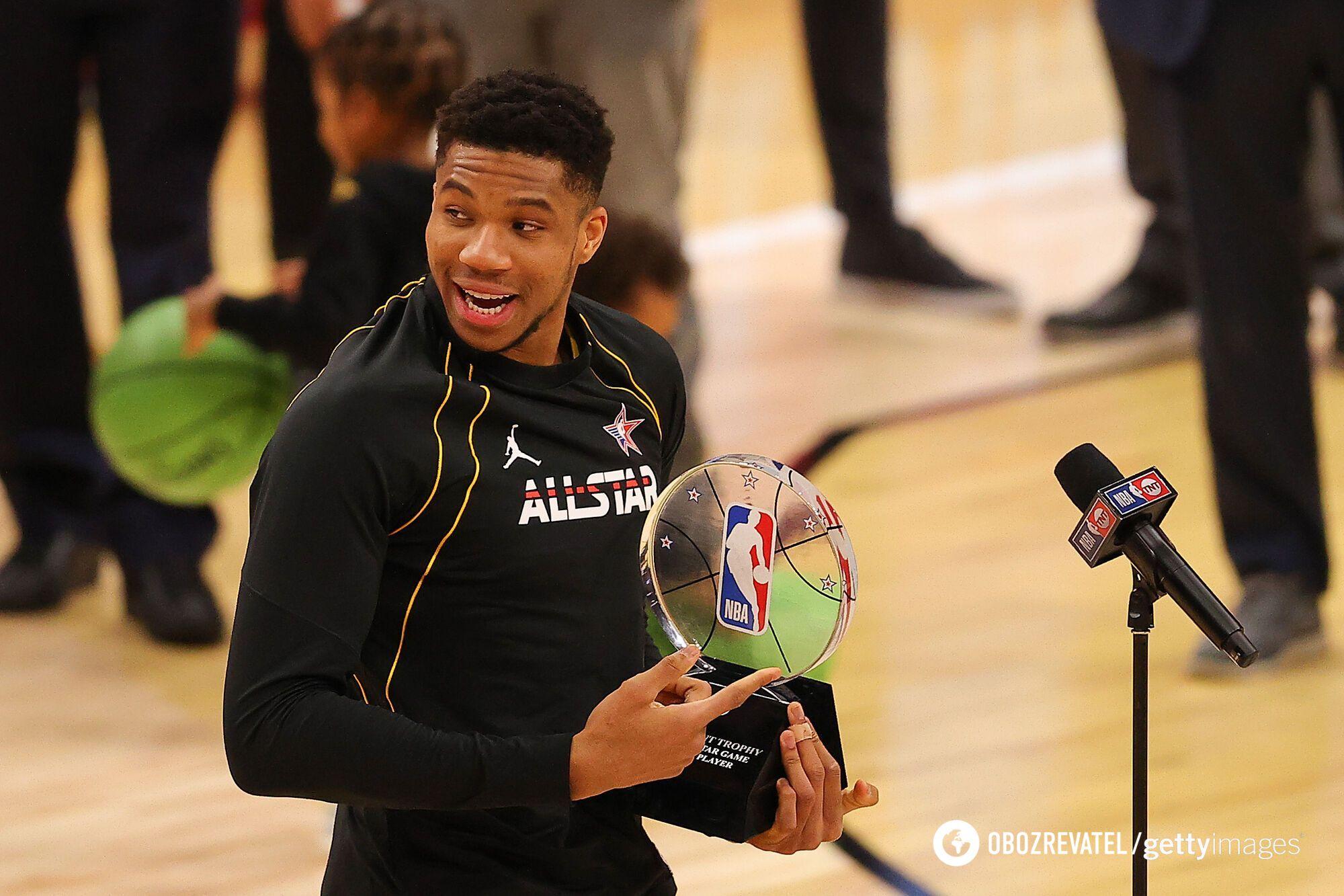 Яннис Адетокумбо стал MVP Матча звезд НБА