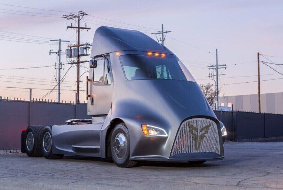 Конкурент Tesla Semi – Thor ET-One