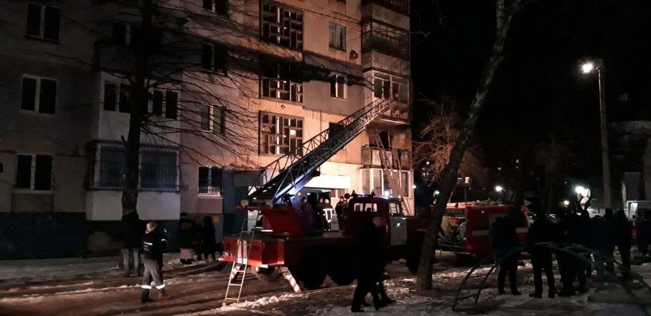 Спасатели потушили пожар