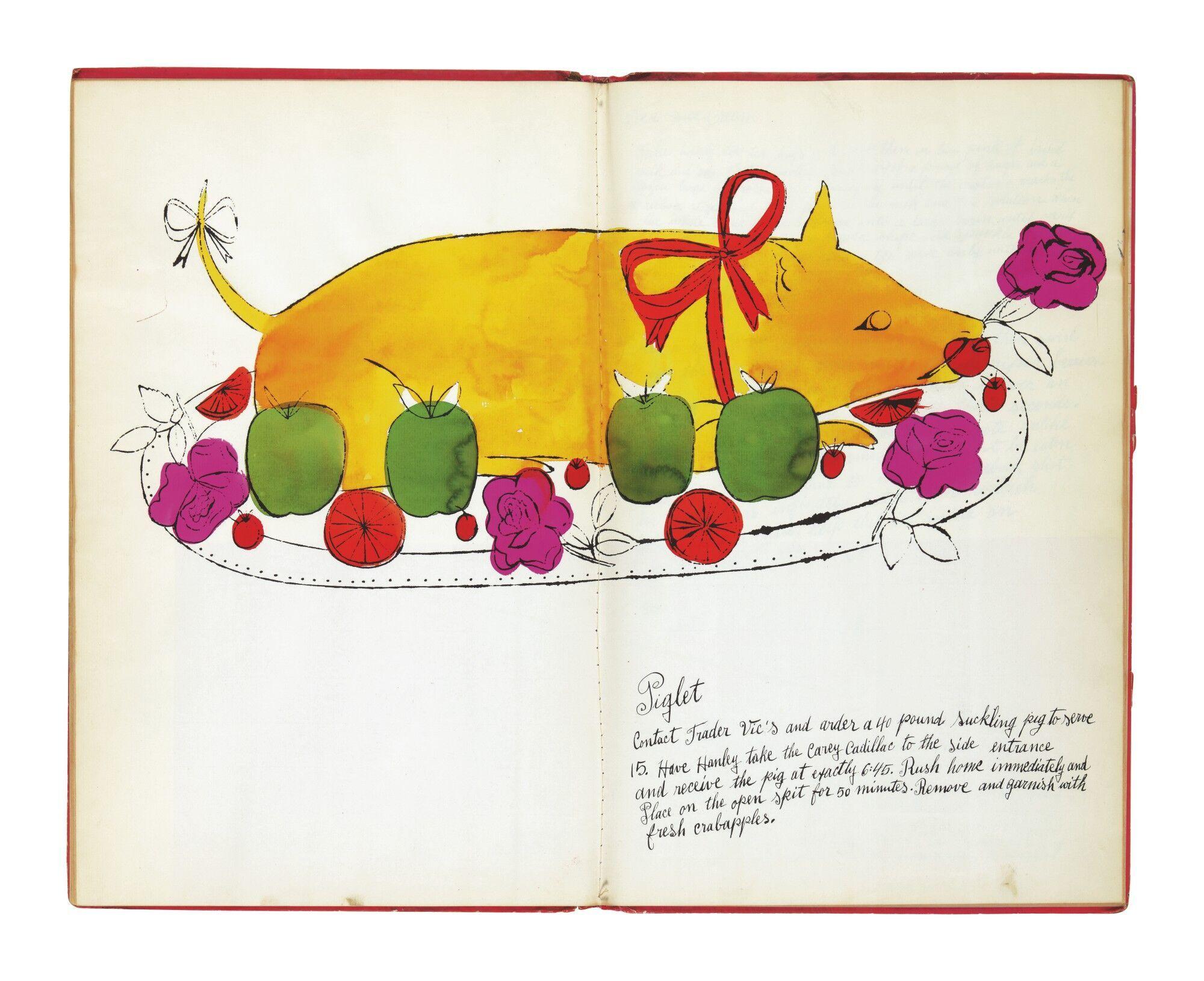 Сторінки з книги Wild Raspberries.