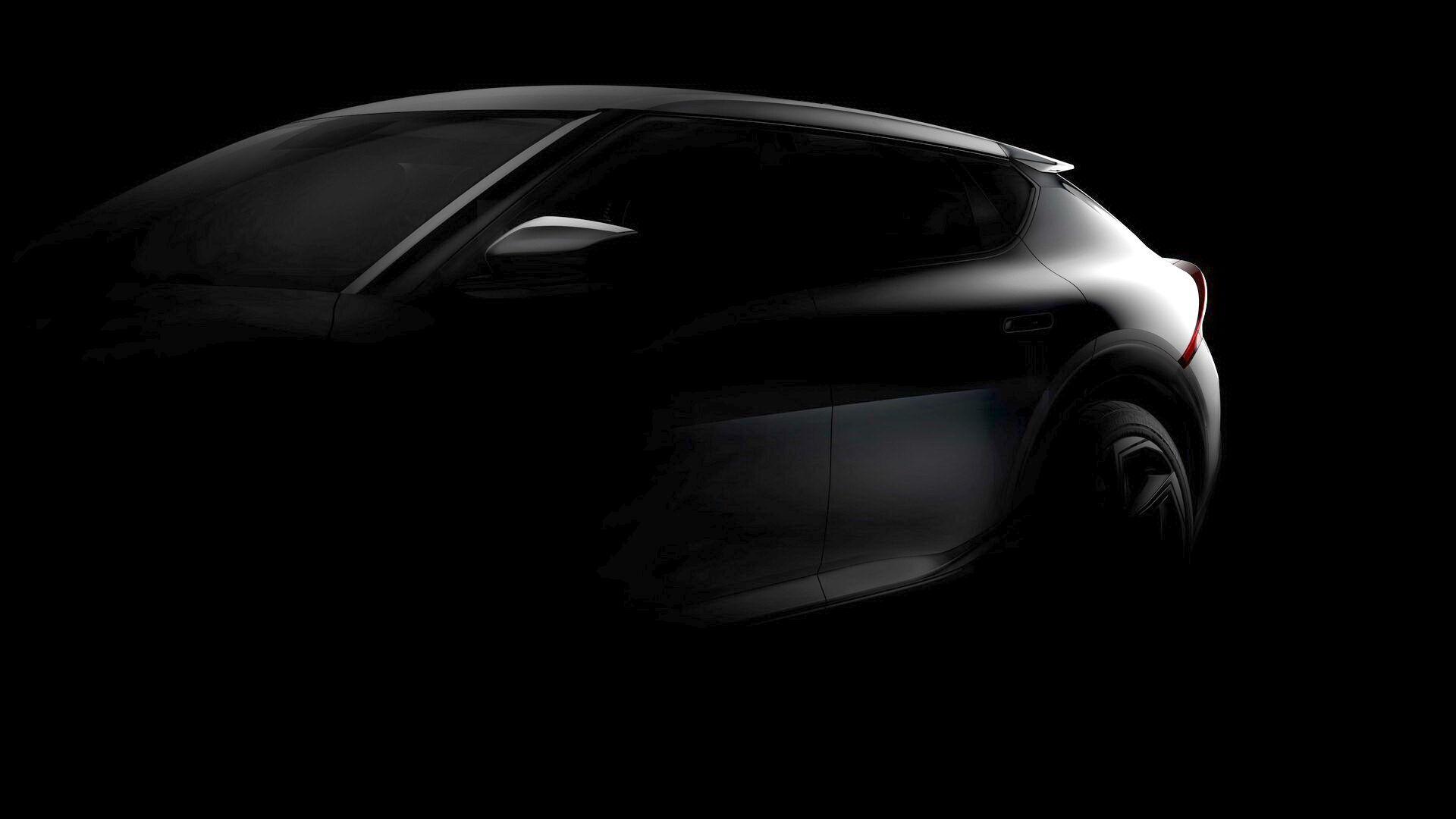 Kia показал первые изображения модели, получившей обозначение EV6