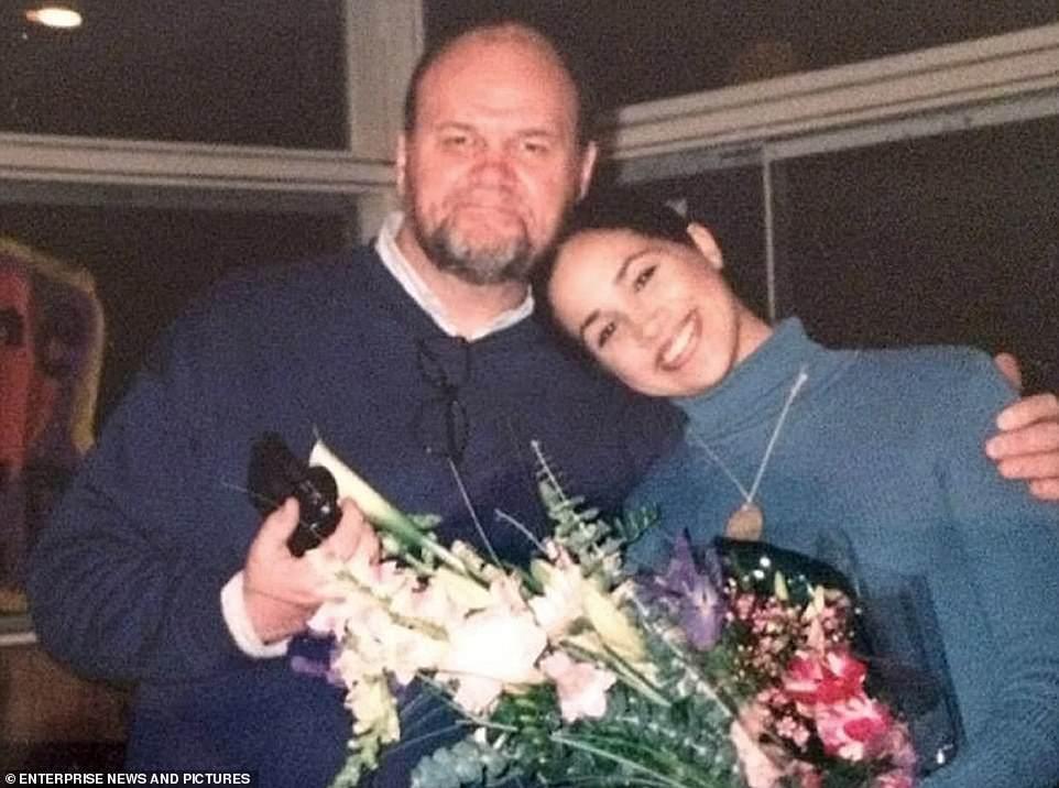 Меган Маркл із батьком Томасом