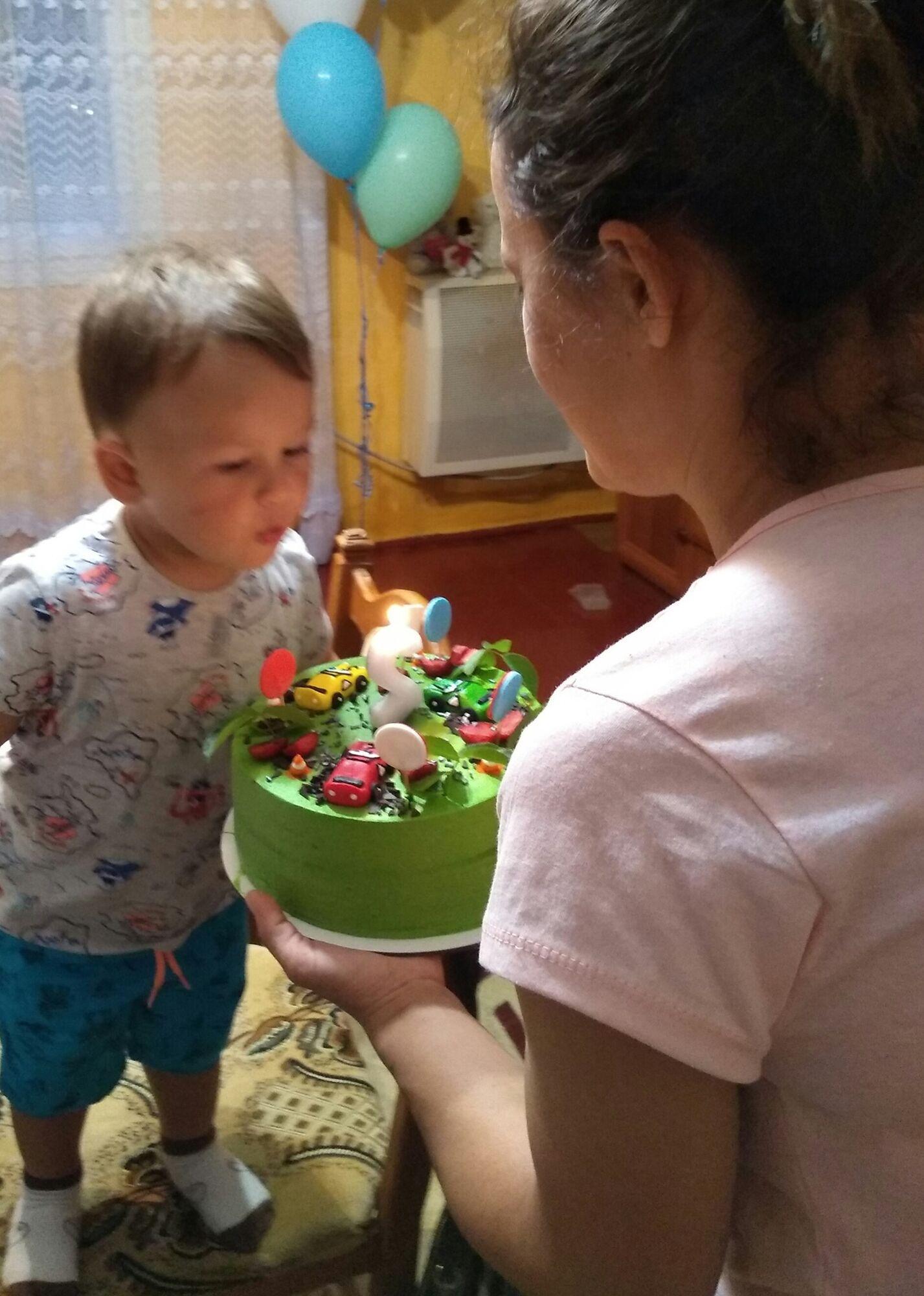 Маленькому Давиду всего 3,5 годика