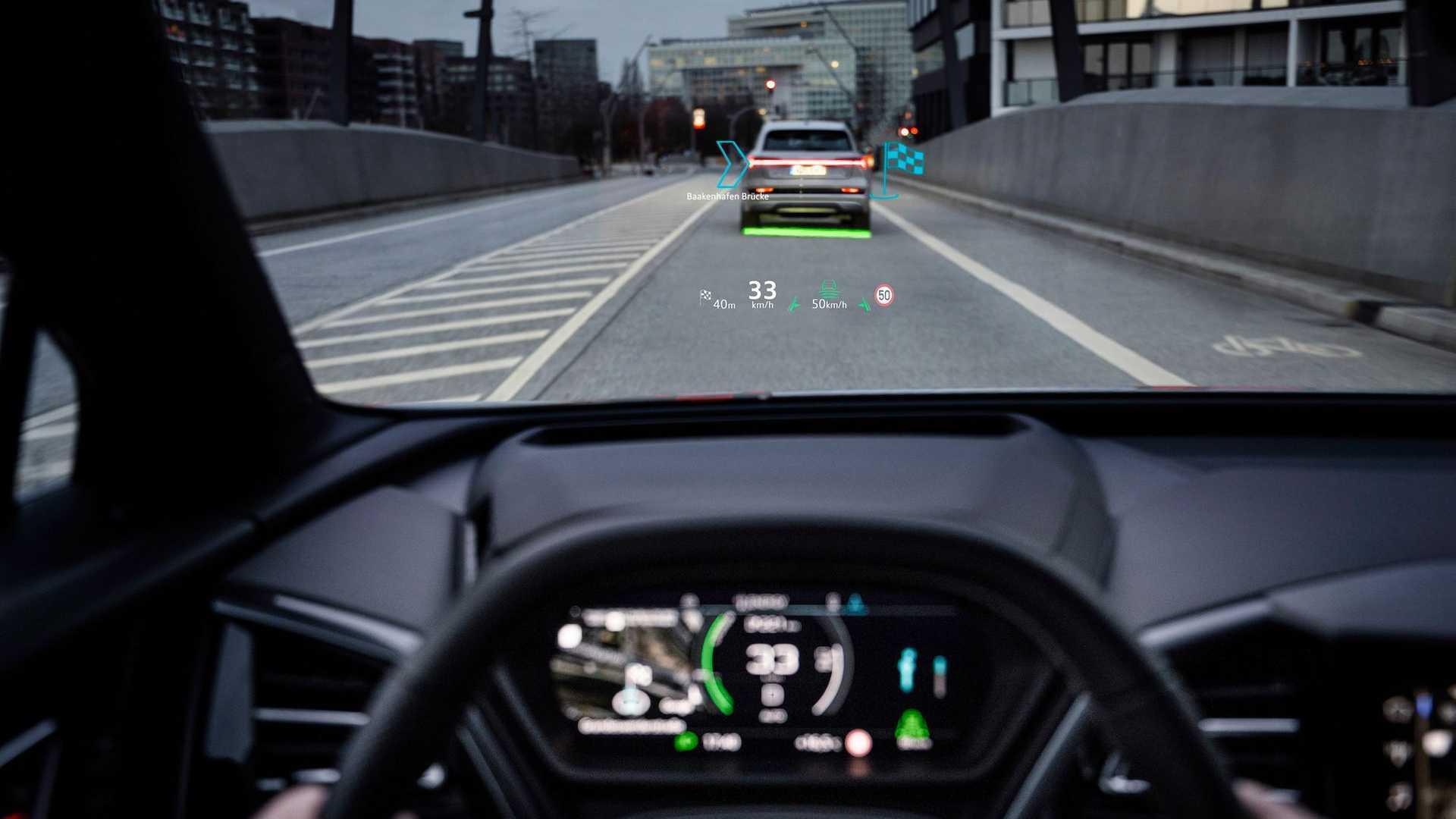 Виртуальный дисплей Audi Q4 e-tron