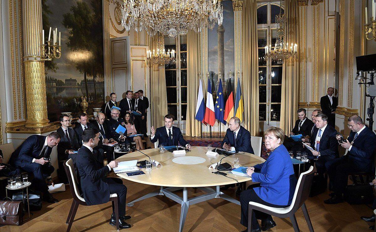 """Встреча в """"нормандском формате"""" в Париже в декабре 2019 года"""