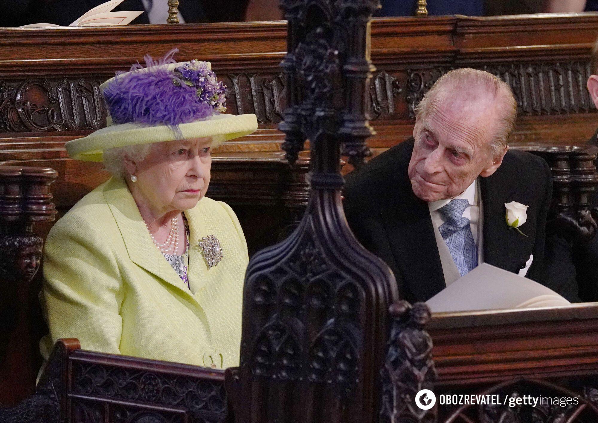 Елизавета II и принц Филипп