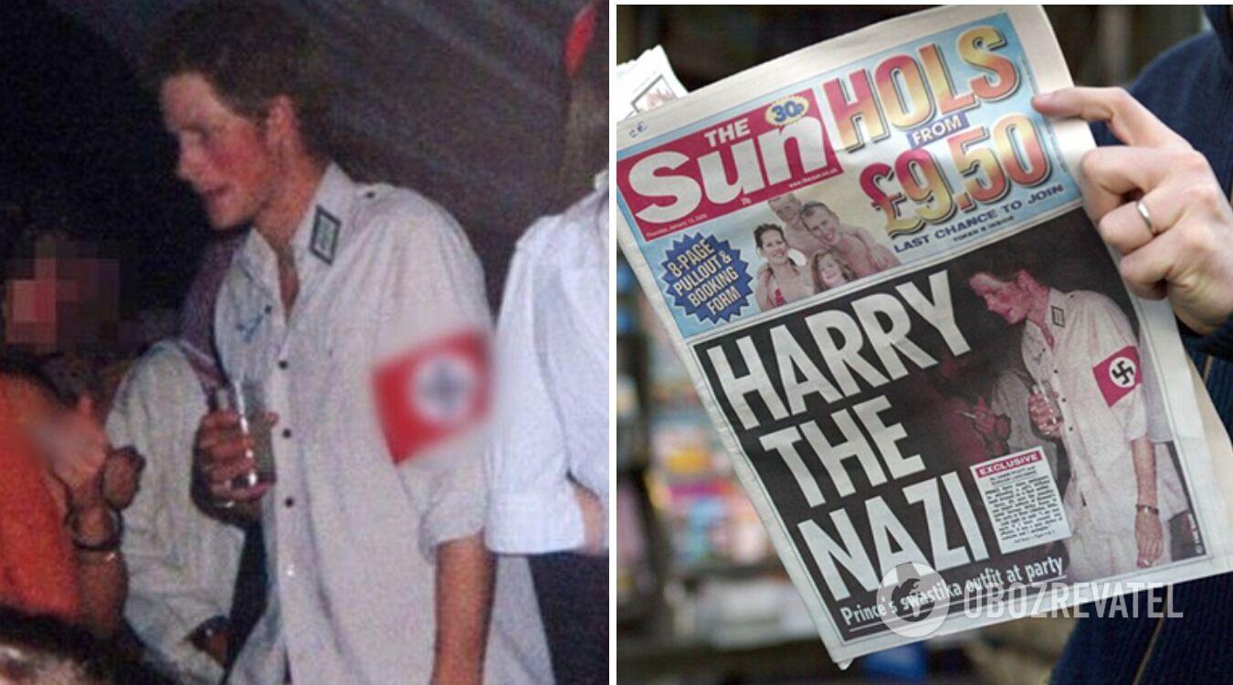 ЗМІ досі говорять про невдалий маскарадний костюм принца Гаррі
