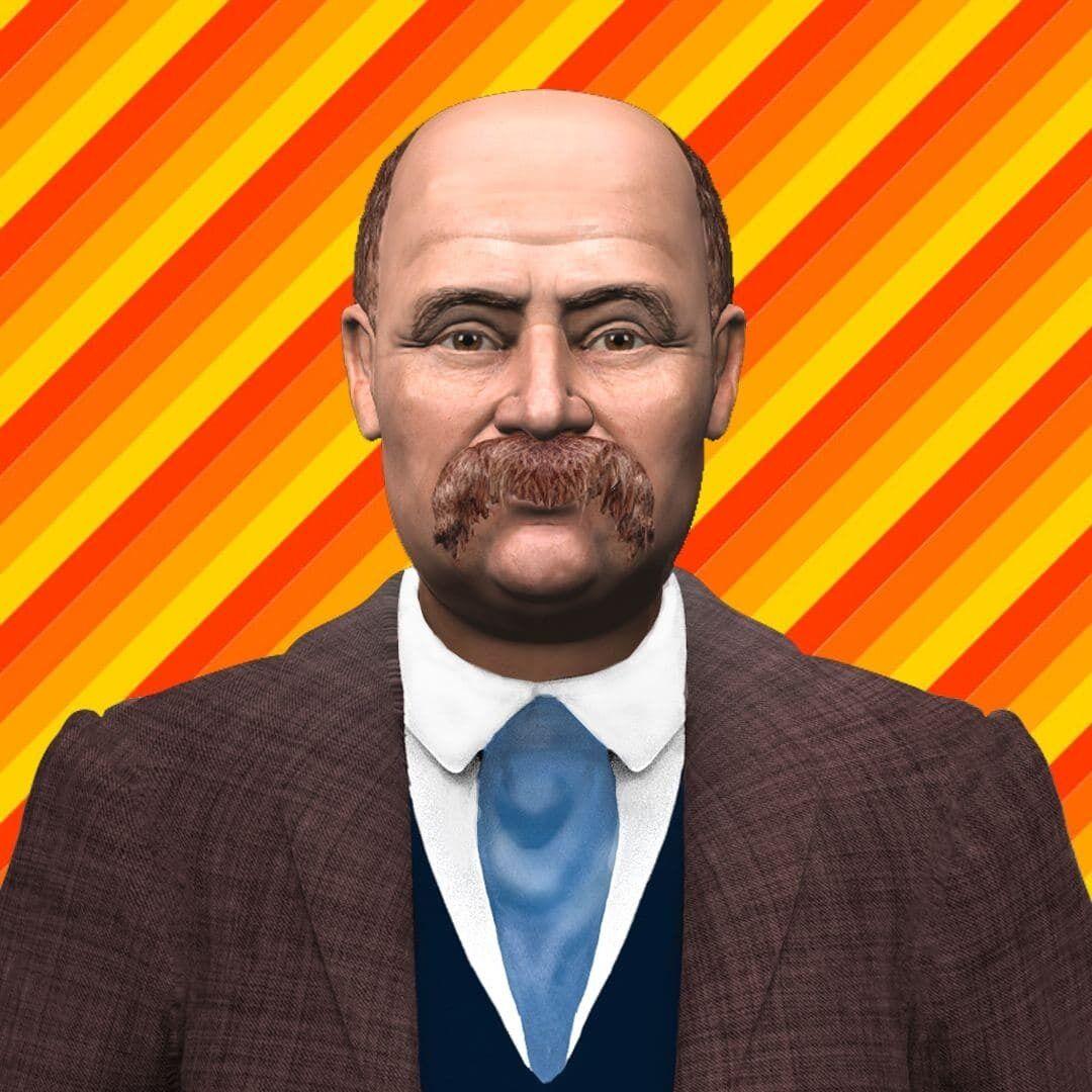 Тарас Шевченко з'явився в цифровому форматі.