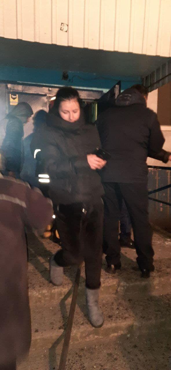 Эвакуировано семь человек