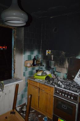 Взрыв случился на кухне