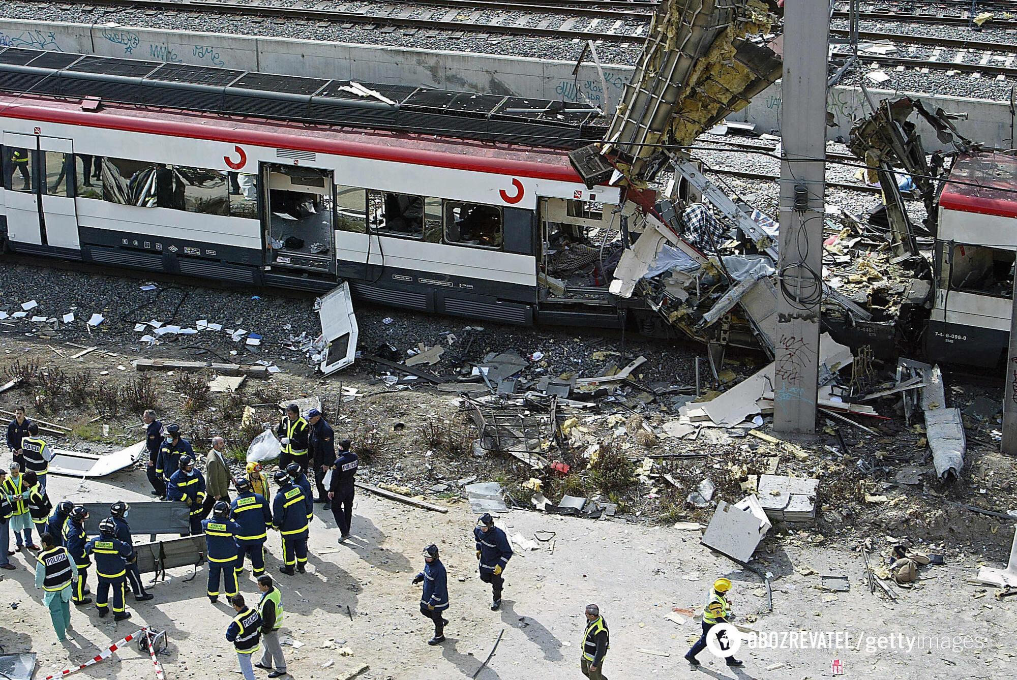 Терористи організували вибухи, щоб помститися Іспанії за участь у війні в Іраку