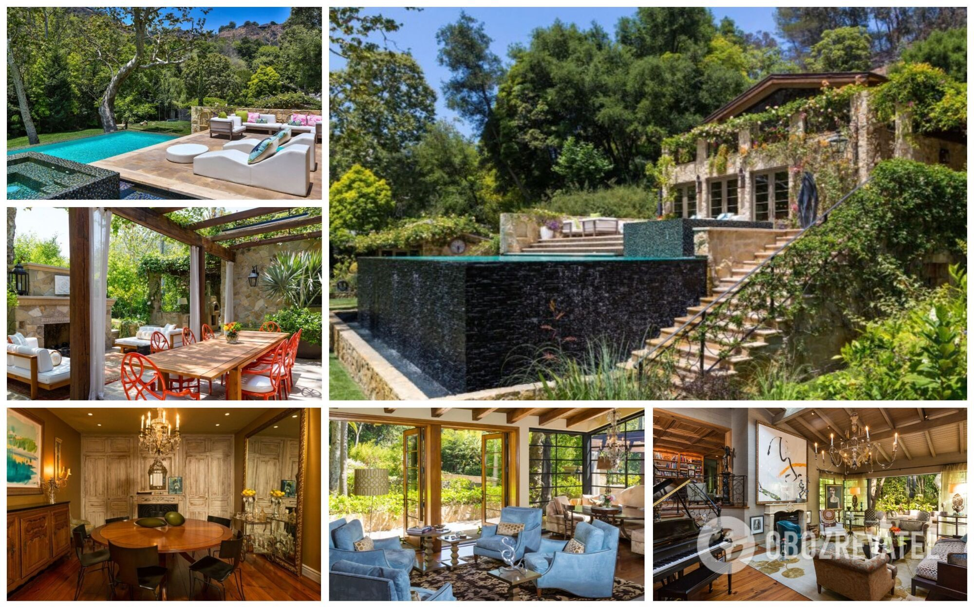 Будинок Джей Ло займає понад три гектари в престижному районі Бель-Ейр