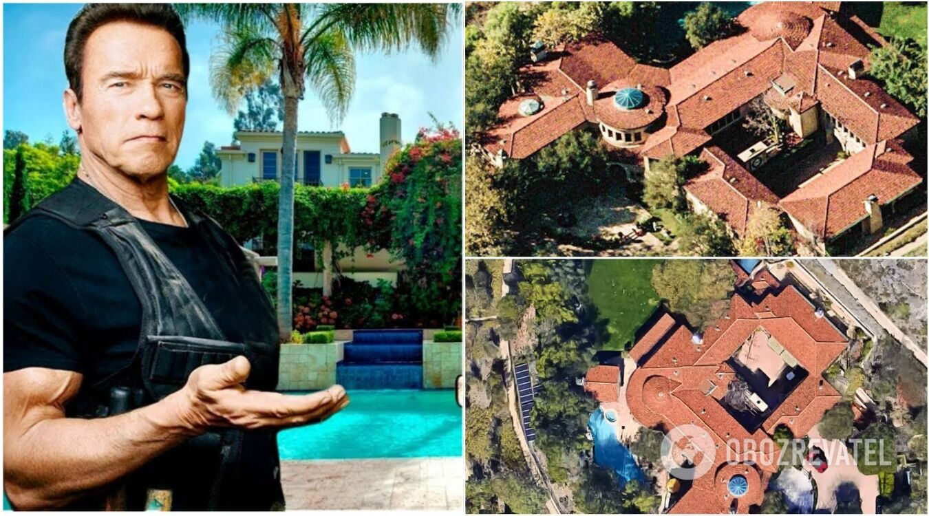 У його маєтку в престижному районі Лос-Анджелеса є 7 спалень, 10 ванних кімнат, басейн і величезний тенісний корт