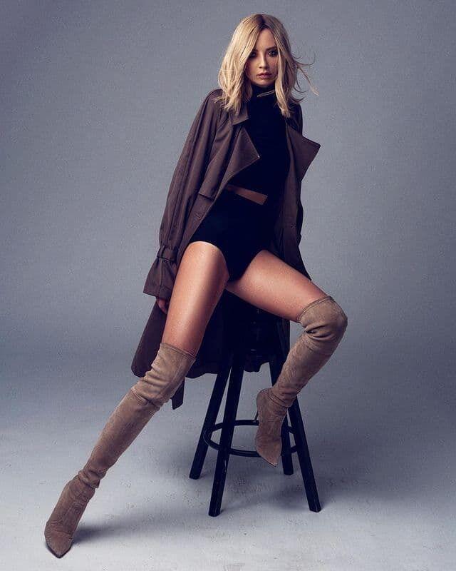 Ірина Сопонару продемонструвала ефектне вбрання