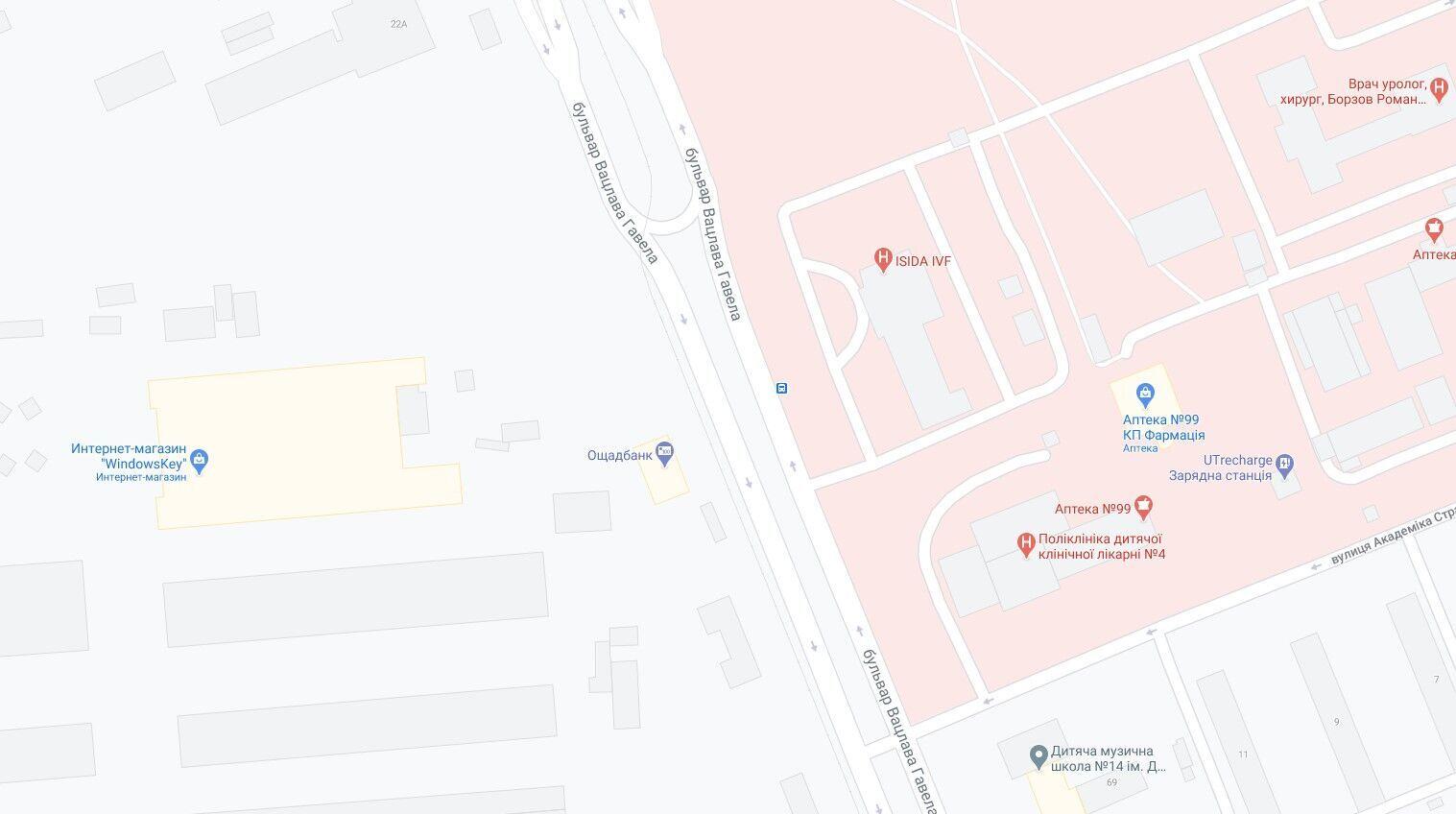 Подія сталася на бульварі Вацлава Гавела.