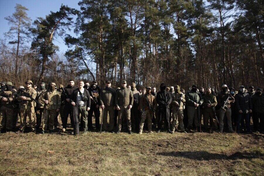 Андрій Білецький провів військовий вишкіл на Київщині