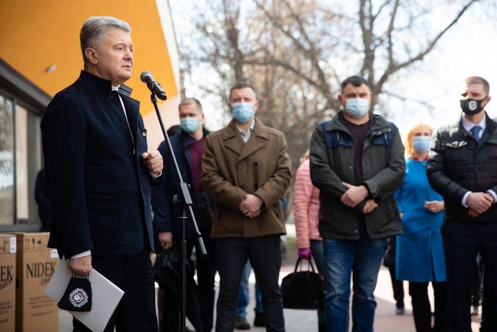 Петр Порошенко обнародовал расширенный план борьбы с COVID-19