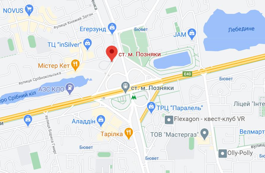 Аварія сталася біля станції метро.