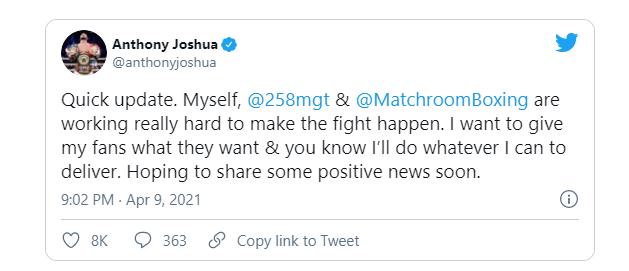 Twitter Джошуа