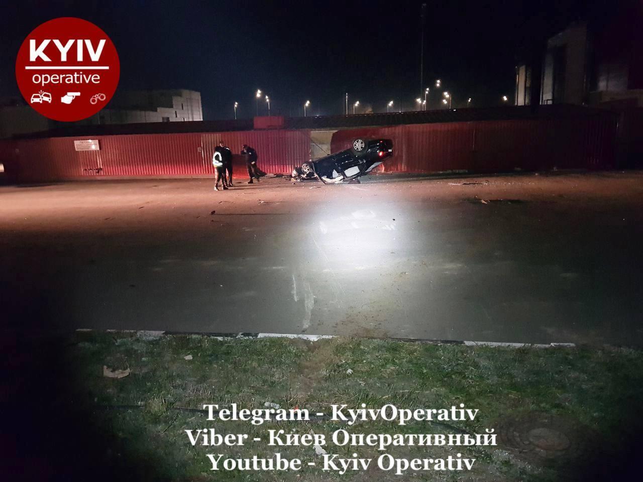 У Києві за день трапилося декілька великих ДТП: серед причин – п'яне водіння. Фото