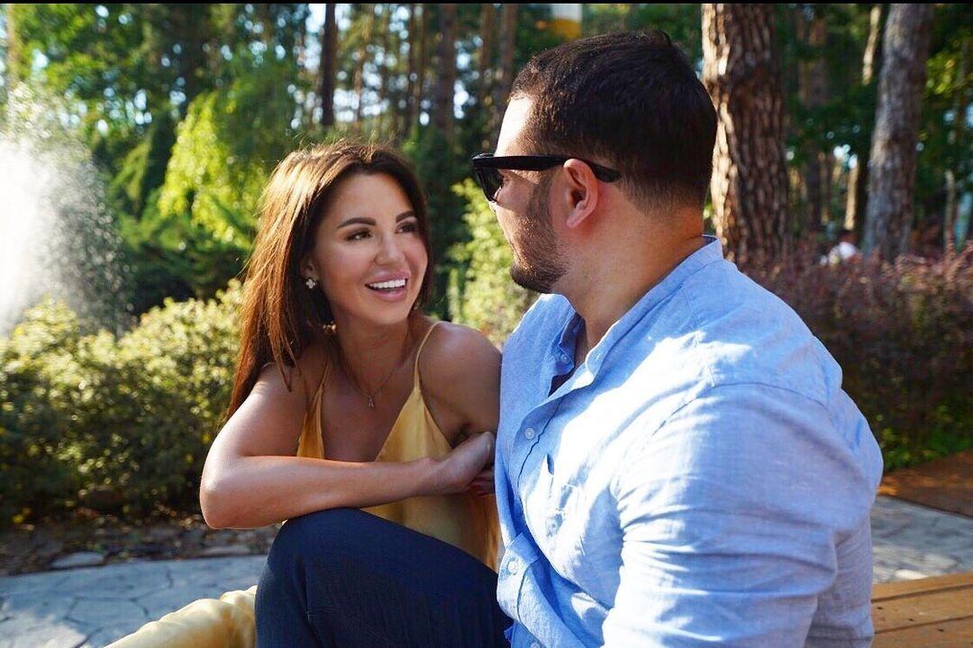 Алиса Чумак с мужем