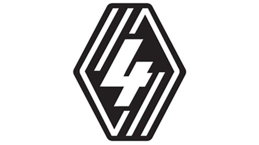 Эмблема нового поколения модели Renault 4