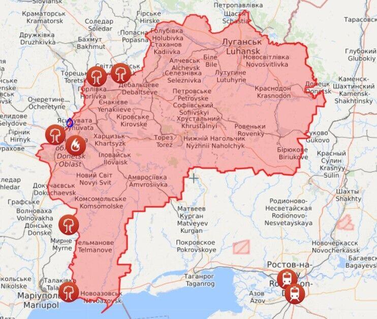 Кара войны на Донбассе