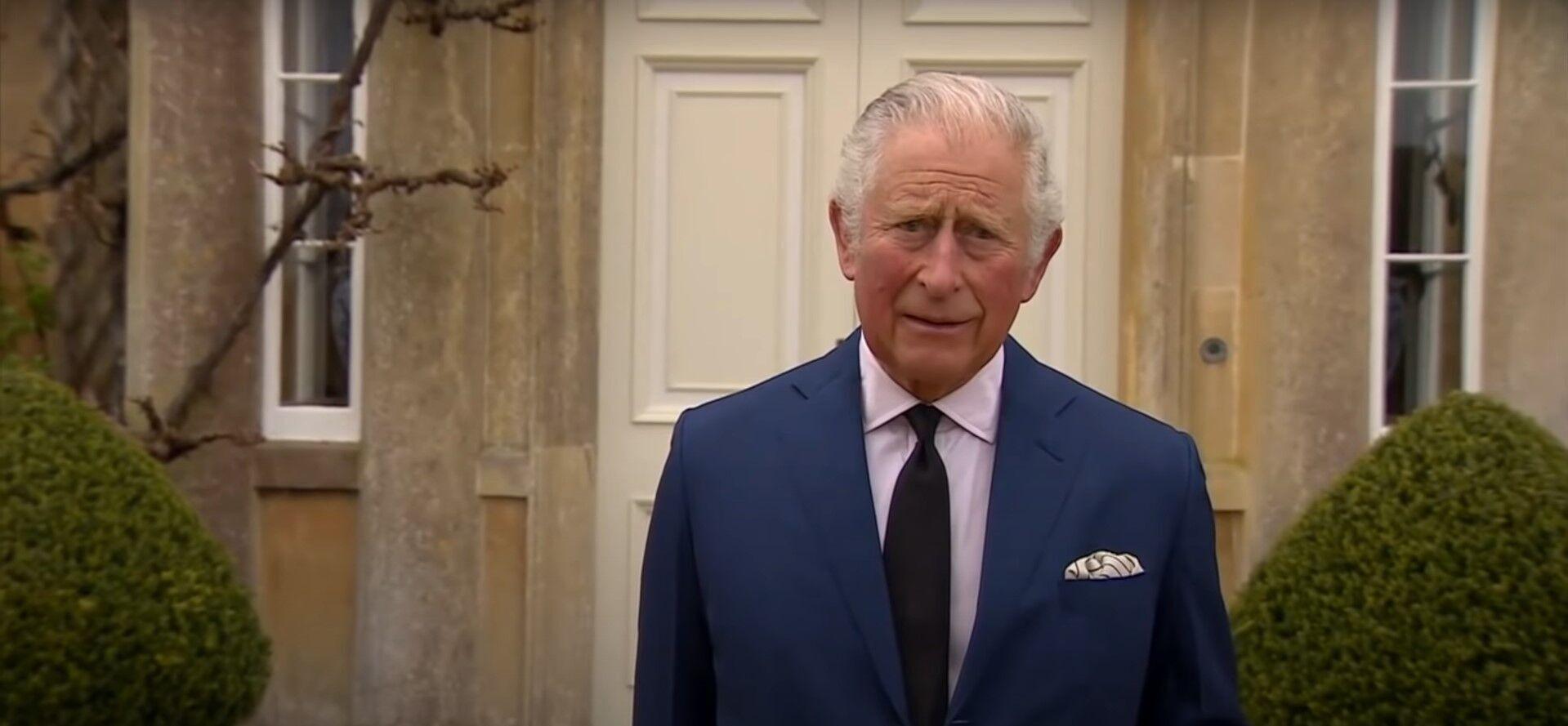 Принц Чарльз выступил с речью после сметри отца.