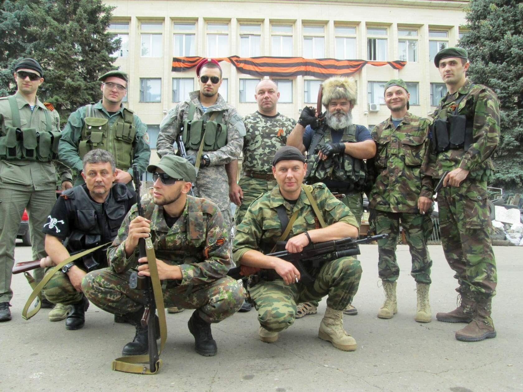 12 апреля 2014 группа Гиркина вошла в Славянск.