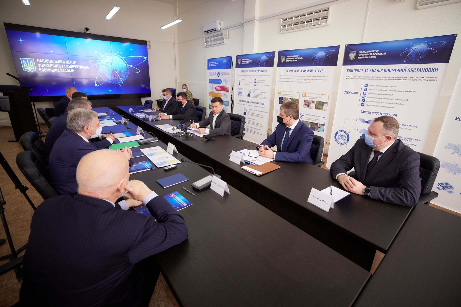Зеленський розповів про завдання космічної галузі.