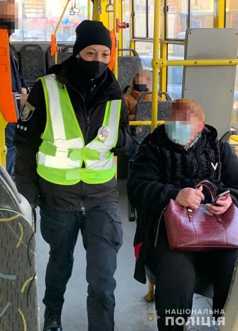 Проверки в общественном транспорте.