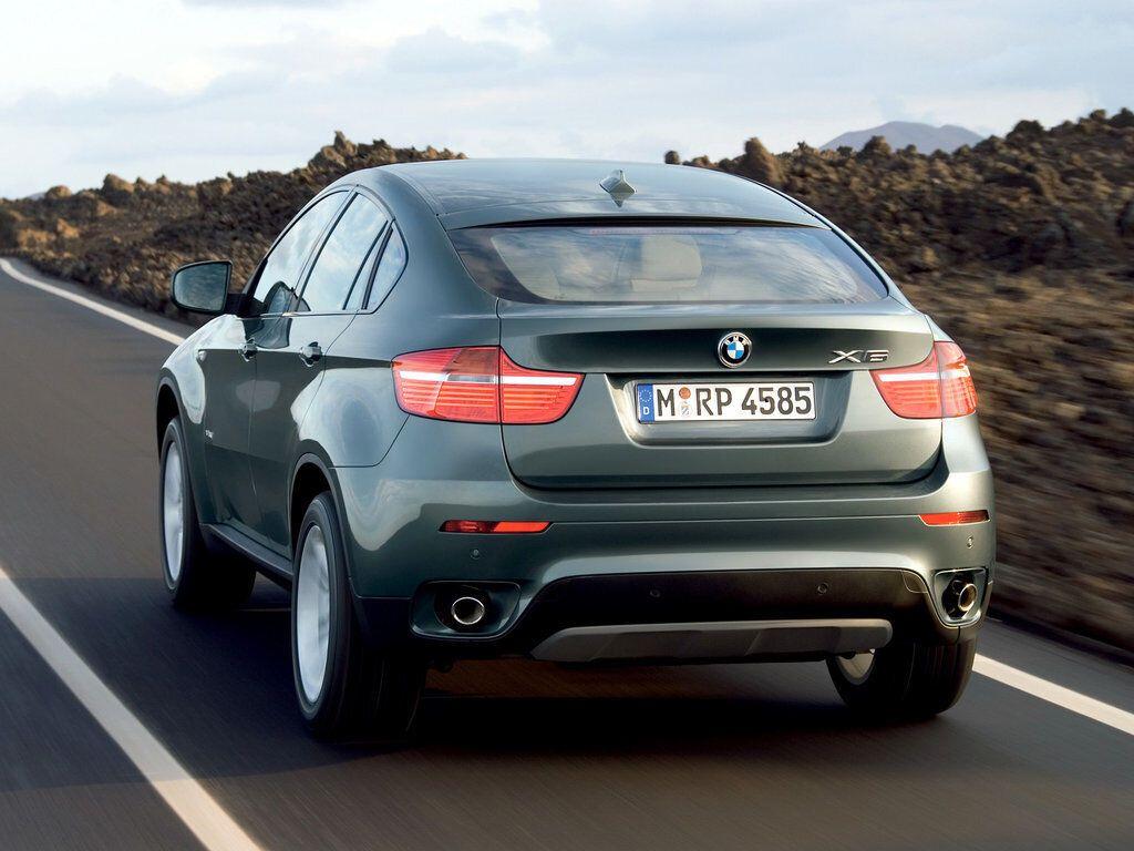 BMW X6 открыл сегмент купеобразных кроссоверов