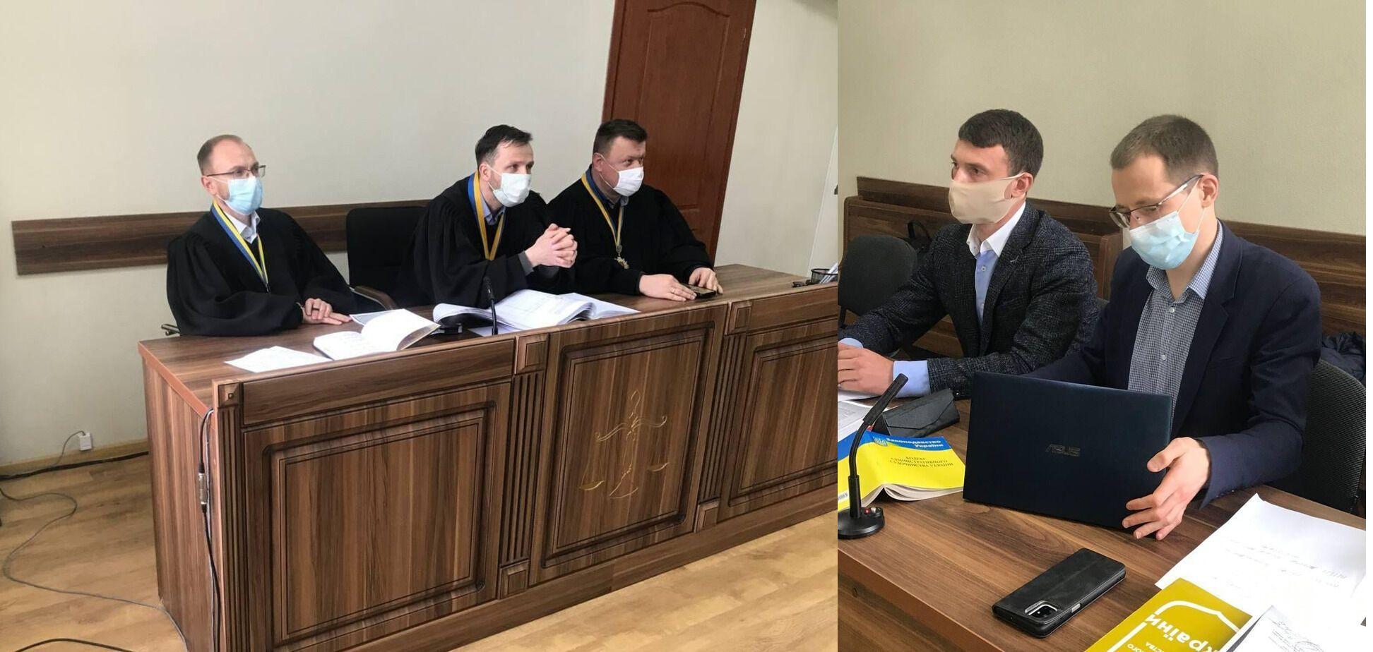 Під час засідання Івано-Франківського окружного адміністративного суду