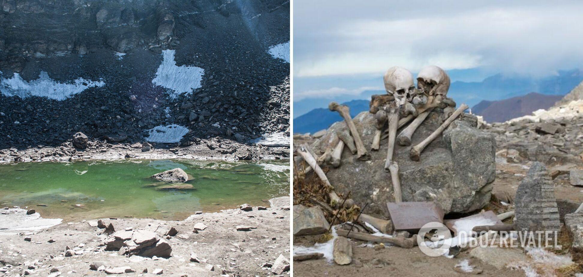 В Индии нашли 500 старинных скелетов.