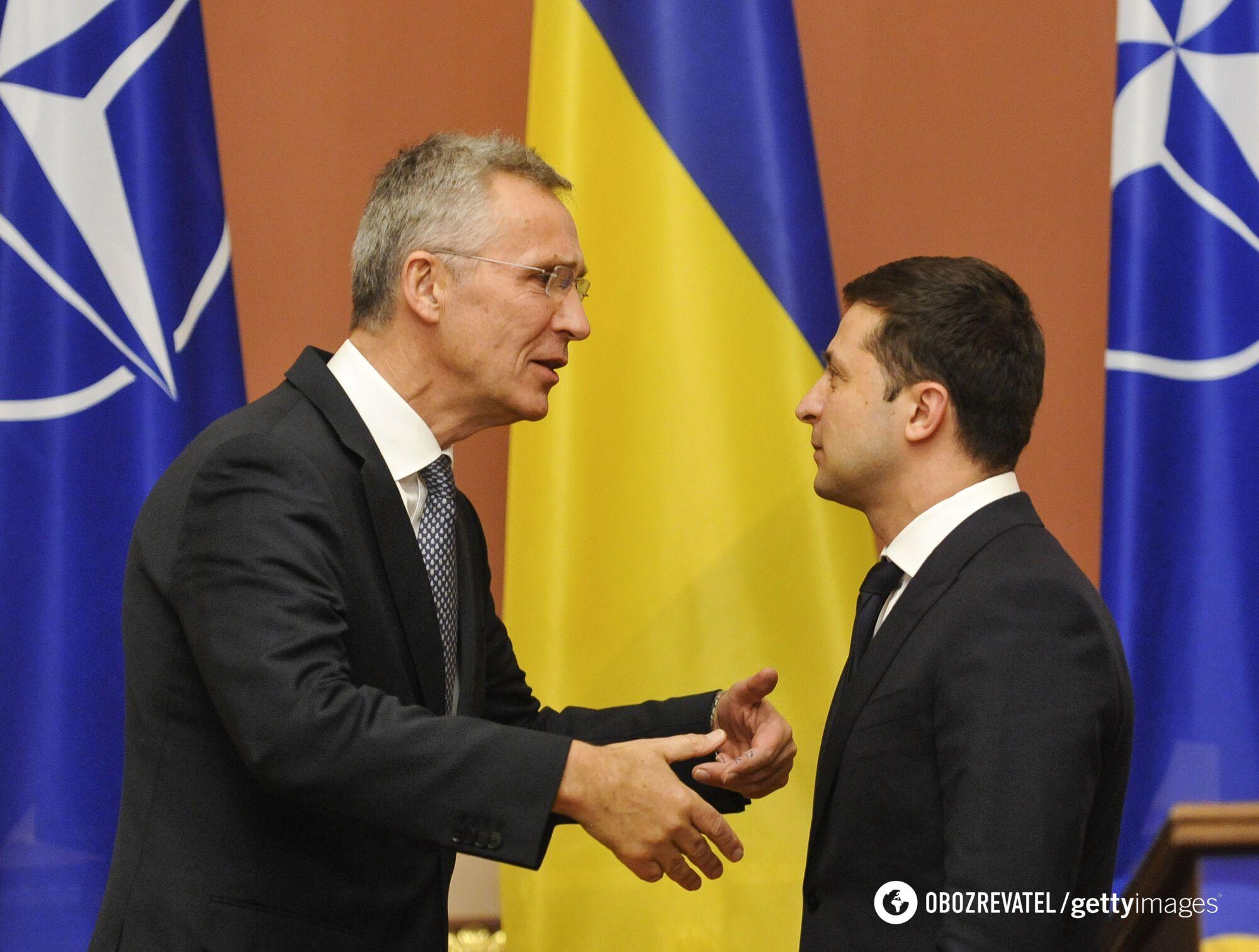 Визит генсека НАТО Йенса Столтенберга в Украину 30 октября 2019 года