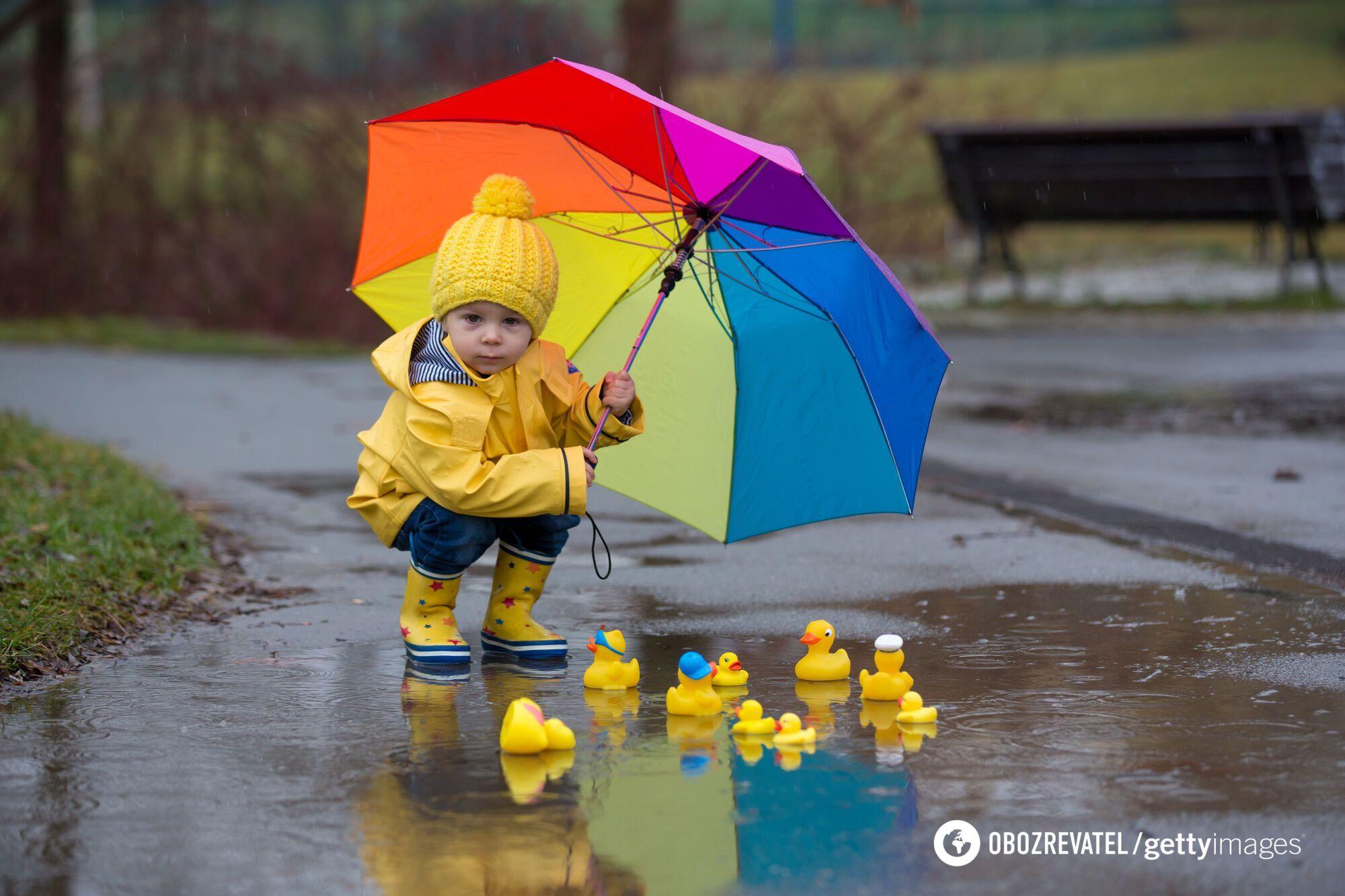 Два циклони принесуть дощову погоду.
