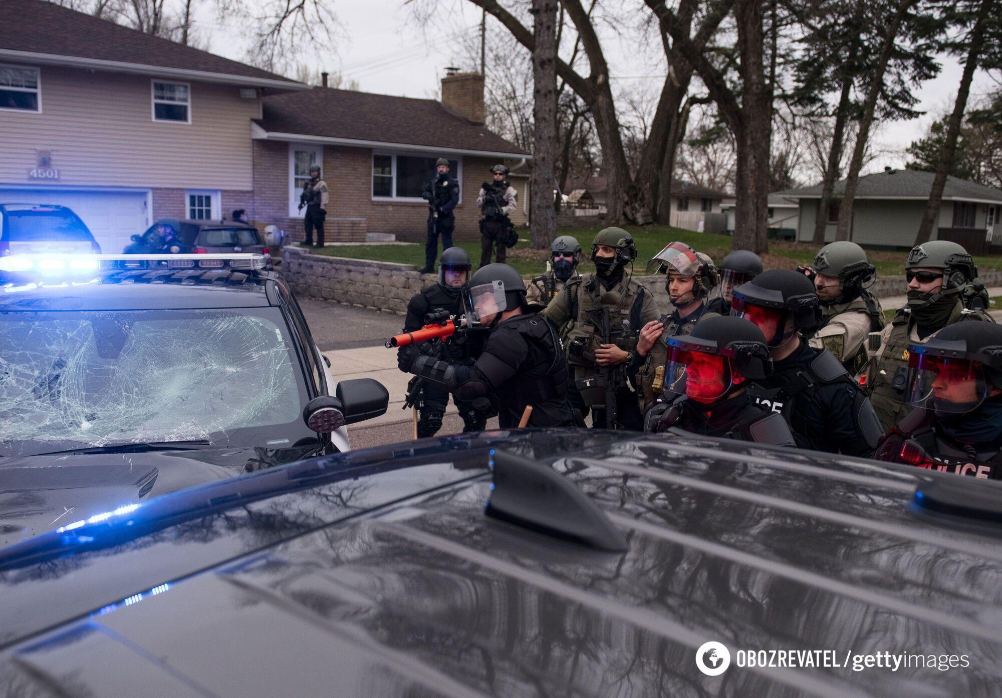 У США поблизу місця вбивства Джорджа Флойда відбулися нові заворушення. Фото
