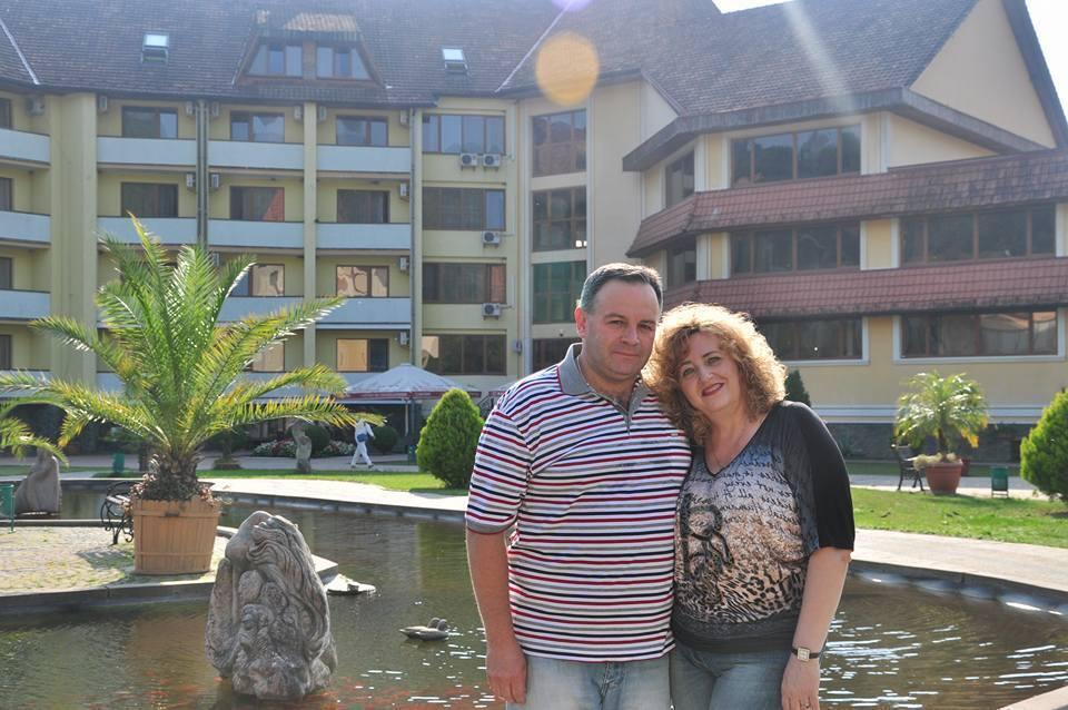 Гвоздовський разом із дружиною