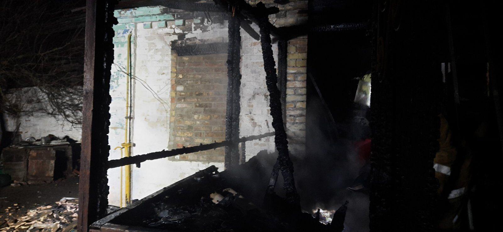 В результате пожара погиб 5-летний мальчик.