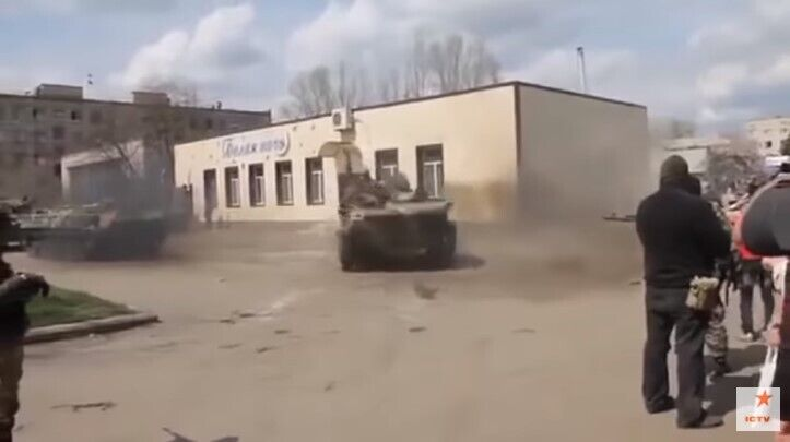 "Кадр из ""Славянск. Начало войны"""