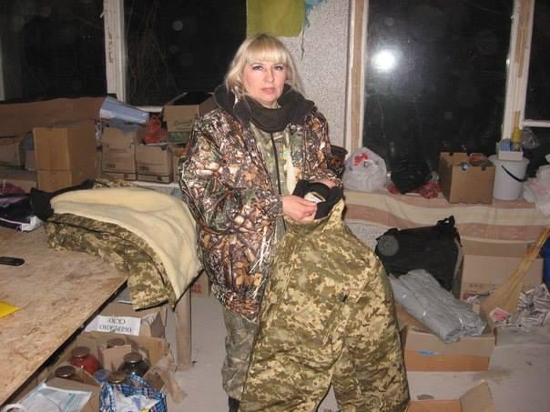 Анжела Мончинська була волонтеркою.