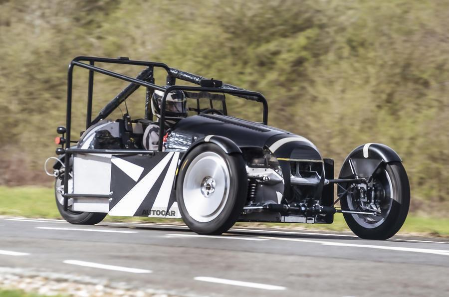 Прототип обновленного Morgan 3 Wheeler