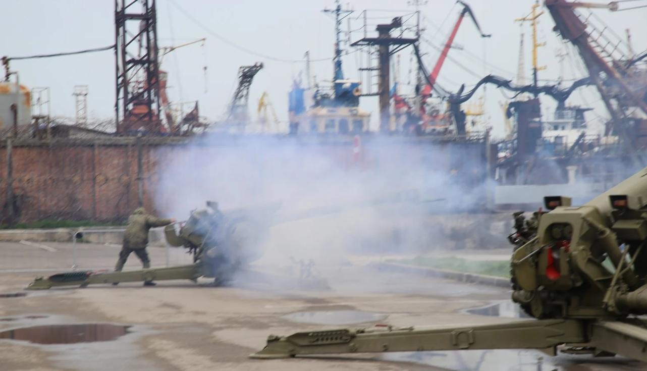 Постріл гармати в Керчі