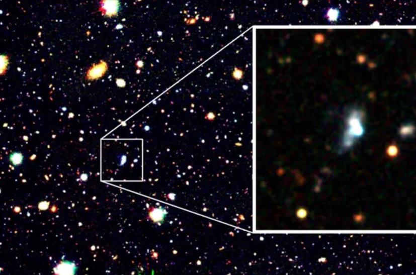 Галактика HSC J1631 + 4426