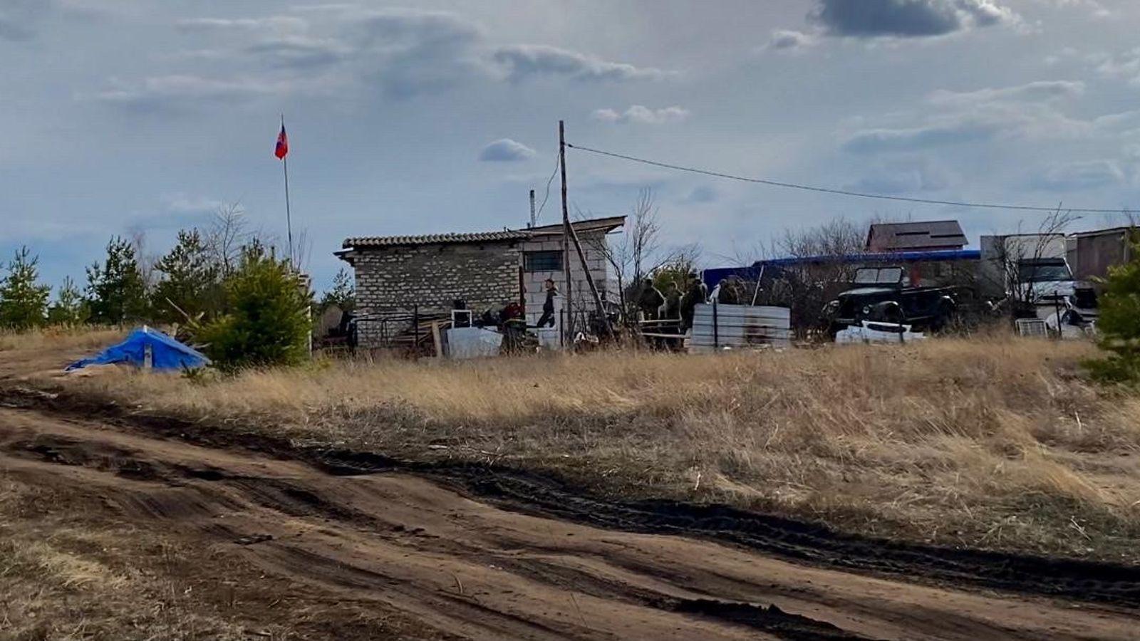 Табір військових Росії розташований на південь від Воронежа (РФ)