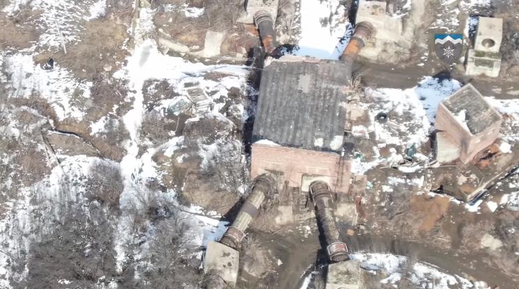 """Терористи """"ДНР"""" порушили норми міжнародного права, перетворивши водонасосну станцію на військовий об'єкт"""