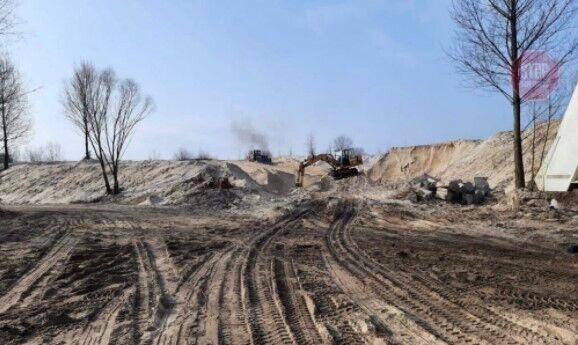 Активисты промониторили незаконные места добычи песка в столице