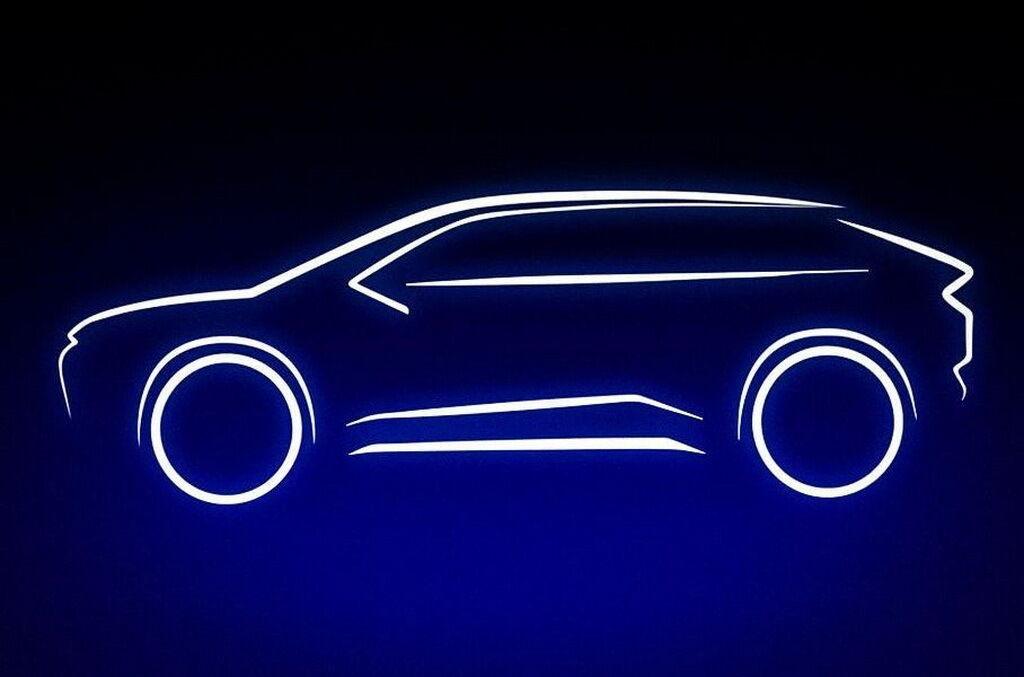 Автомобиль использует платформу e-TNGA, а по размерам он сопоставим с популярным кроссовером Toyota RAV4