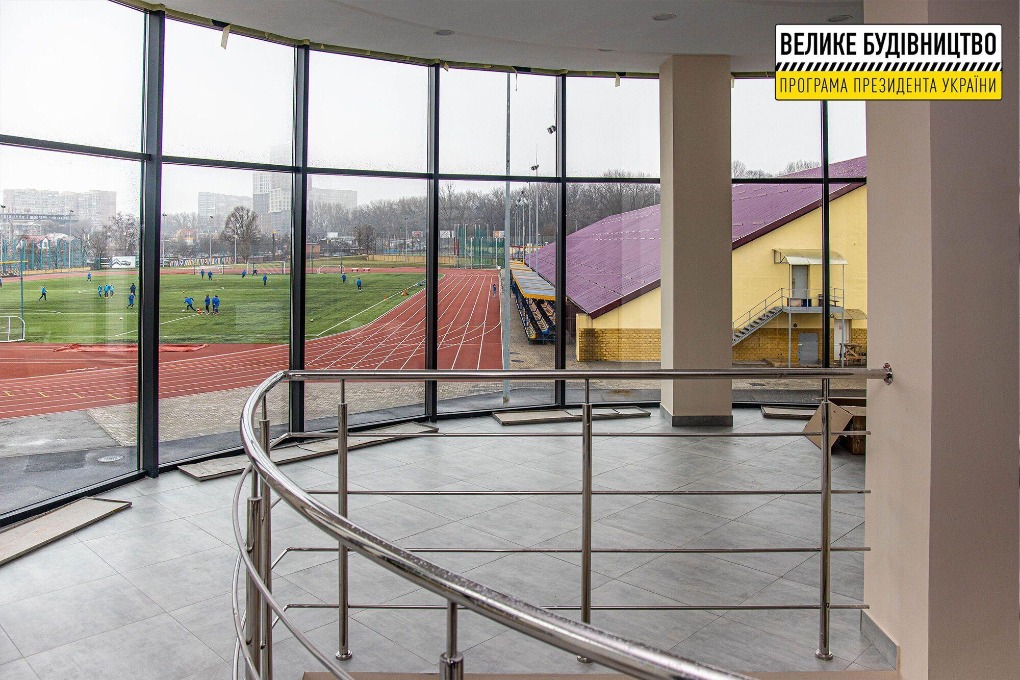 """В Днепре завершили """"Большую стройку"""" Олимпийского дома для спортсменов"""