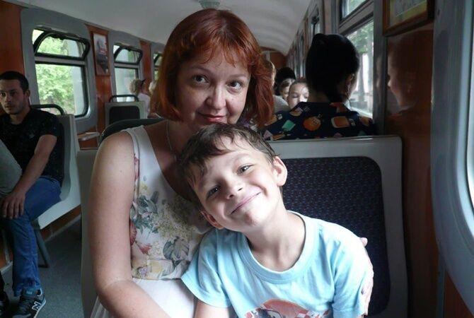 Анжела Печенежская и ее сын Ростислав